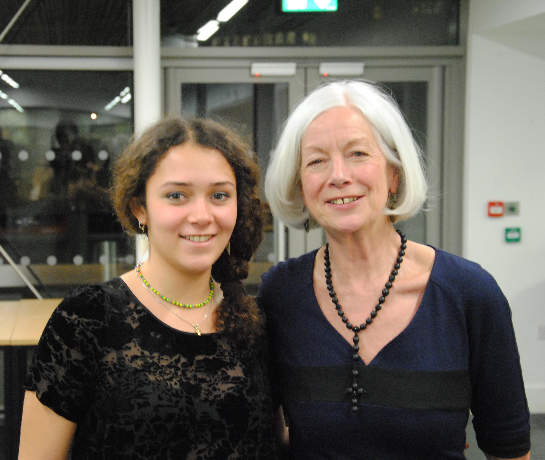 Dr. Scilla Elworthy & Bella Bertrand-Webb