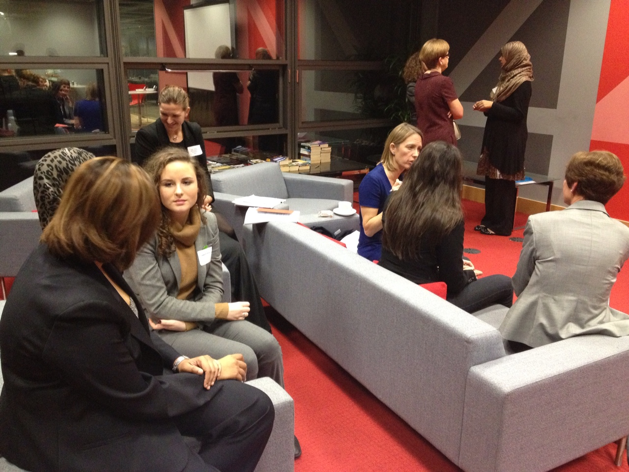 The Voice Of A Woman Mentoring Program 2012