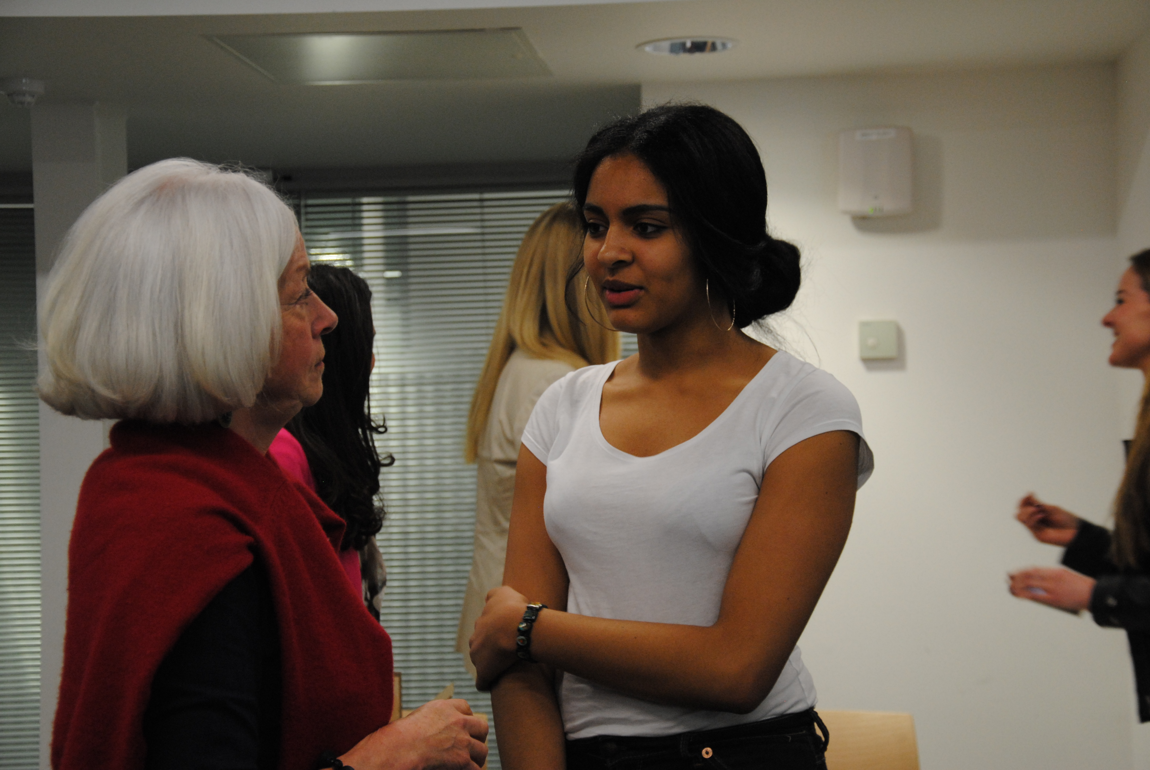 VOW TALKS with Dr. Scilla Elworthy at Westminster University 2013