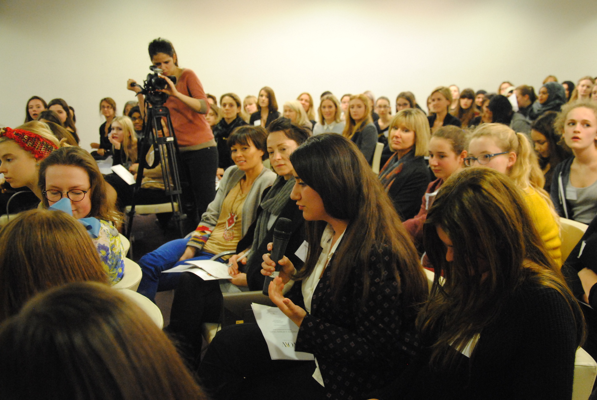 VOW TALKS with women leaders in Media 2013