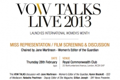 VOW TALKS LIVE 28 FEB 2013