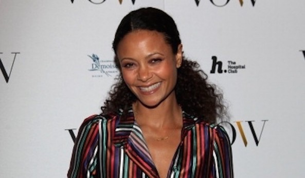 THANDIE NEWTON ACTRESS | THE VOICE OF A WOMAN AWARD