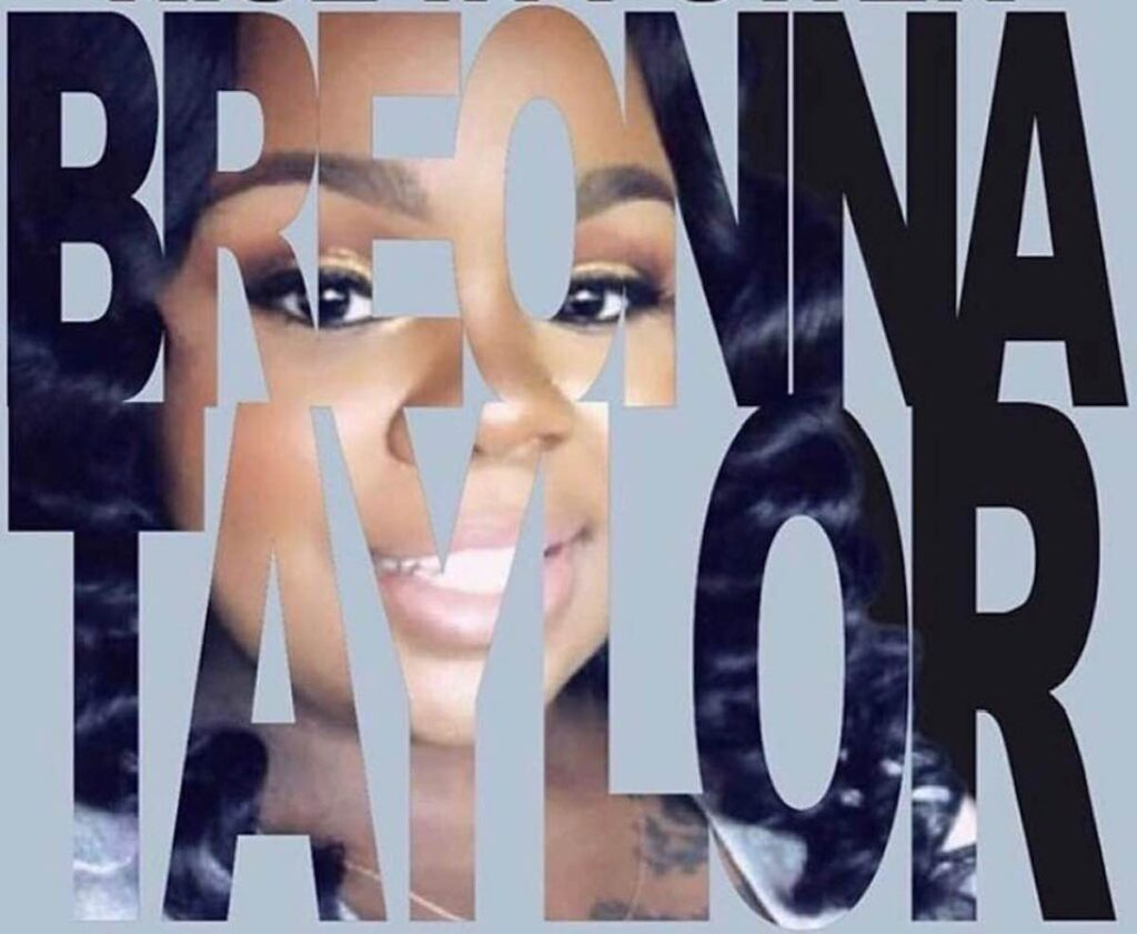 Justice For Breonna Taylor The Voice Of A Woman